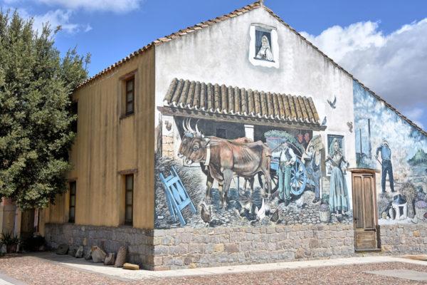 Murale Civiltà Contadina